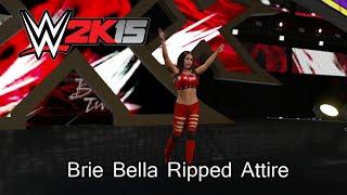WWE 2K15 (PS4) Brie Bella Ripped Attire