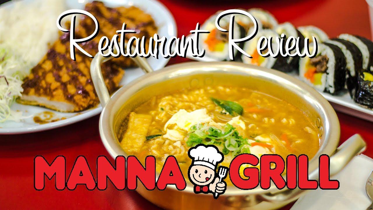 restaurant review manna grill youtube. Black Bedroom Furniture Sets. Home Design Ideas