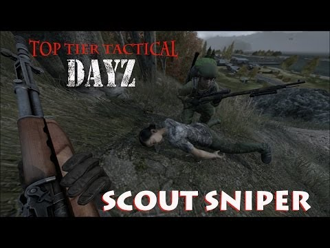 DAYZ SCOUT SNIPER Weapons,Zombies and Corpses,Oh My! Ep 2