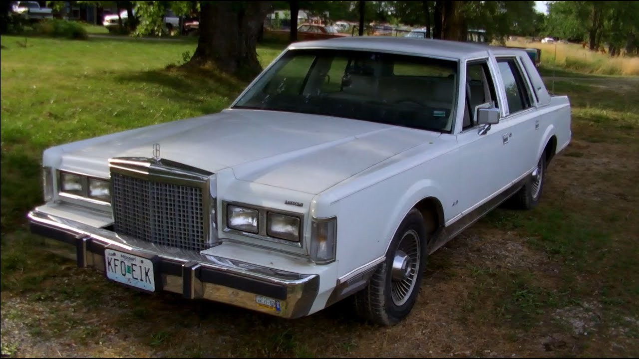 1987 Lincoln Town Car Signature Series w/26k Miles | Full Tour ...