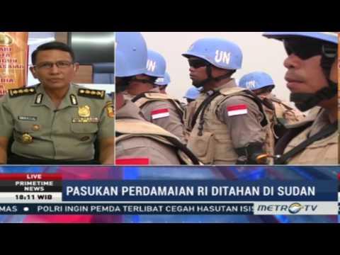 Primetime News: Pasukan Perdamaian RI Ditahan di Sudan