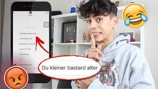 UNDERCOVER ALS HATERPAGE !! 😅 *FANPAGES TROLLEN*