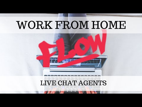 Work From Home - Live Chat Job With Flow