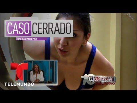 Caso Cerrado | Una Salamandra en el ano | Telemundo