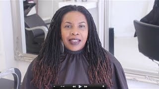 locs Re-twist & Style at EbonyB Salon