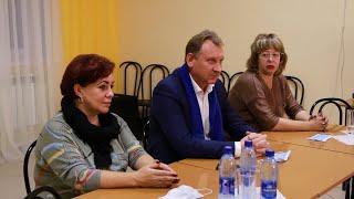 Встреча главы со школьниками в детском оздоровительном лагере «Осётр»
