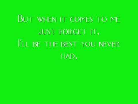 Leona Lewis- The Best You Never Had Lyrics
