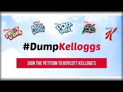 WOW KELLOGGS! WHAT THEY DID TO TRUMP VOTERS WILL MAKE YOU QUIT BUYING THEM