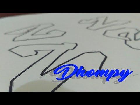 Graffiti Abjad Letter Z Dhompy Graffiti