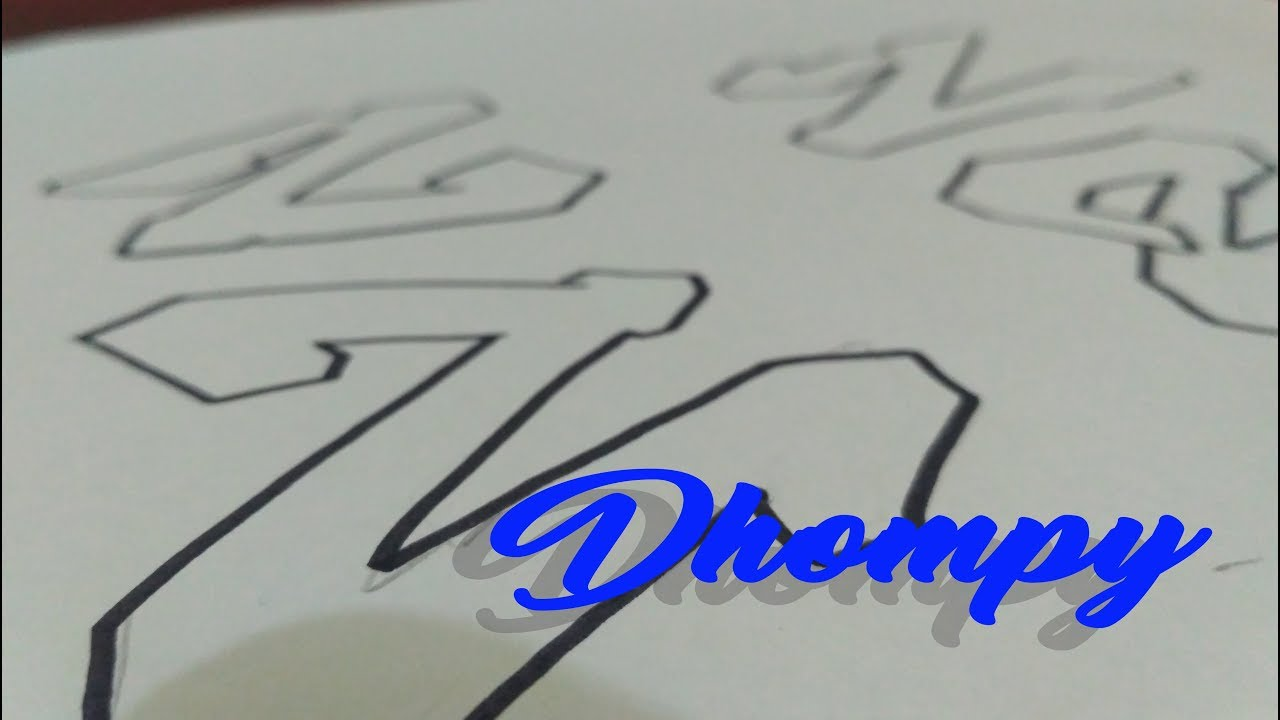 Graffiti Abjad Letter Z Dhompy Graffiti Youtube