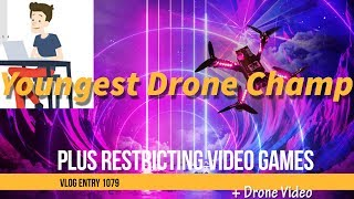 Encouraging or Restricting Kids From Drones And Video Games