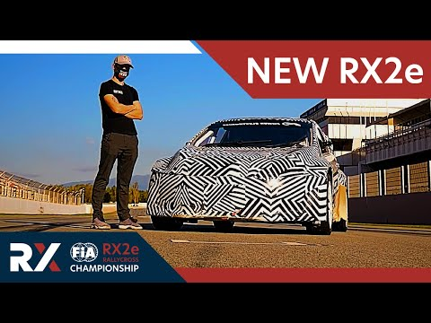 The NEW Electric Rallycross car for 2021 World RX