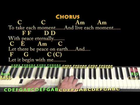 5.3 MB) Let There Be Peace On Earth Guitar Chords - Free Download MP3