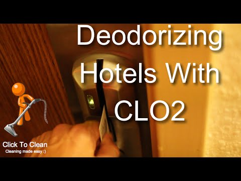 Deodorizing Hotels with Chlorine Dioxide
