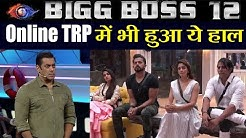 Bigg Boss 12: Online TRP Report | Indian shows Watched Online | FilmiBeat