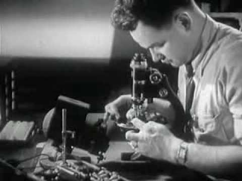 Old Lancaster - Hamilton Fine Watch - Factory Tour - 1947