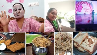 Morning to Night Vlog/ Face Mask serum/ Millet Noodles/ French Toast