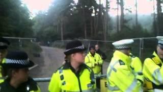 Nikki's Balcombe Arrest 2013