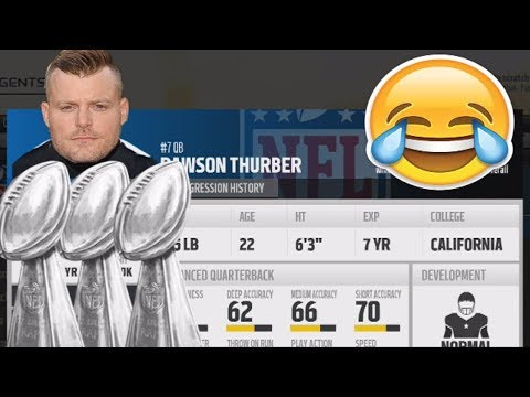 Can a MOVIE DIRECTOR Lead A Team To a Super Bowl? MADDEN 18 EXPERIMENT LOL