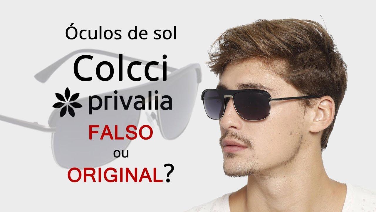 63f281afd Óculos de sol Colcci na Privalia é FALSO ou ORIGINAL? - YouTube