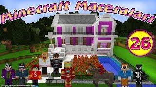 Örümcek Çocuk ve Demir Adam Minecraft'ta Roket Yapıyor Minecraft Maceraları 26. Bölüm