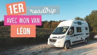 Mon 1er roadtrip en France avec mon van Léon - vanlife