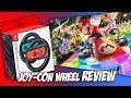 Nintendo Switch Joy-Con Wheel Review + 3D Printed Controller Wheel | Mario Kart 8