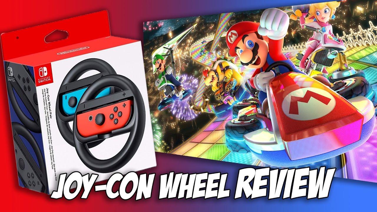 Nintendo Switch Joy Con Wheel Review 3d Printed Controller Wheel Mario Kart 8