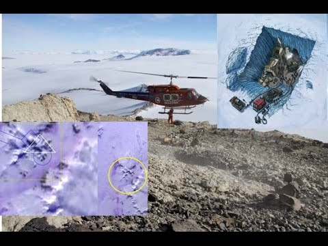Visit to Antarctica Confirms Discovery of Flash Frozen Alien Civilization
