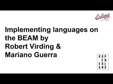 Implementing languages on the BEAM