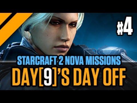 Day[9]'s Day Off StarCraft 2 Nova Missions P4