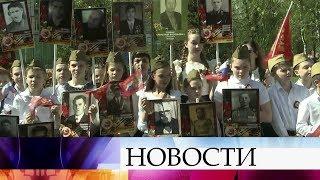Первый канал в прямом эфире покажет шествие «Бессмертного полка» по улицам Москвы.