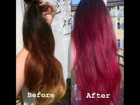 Come Tingere Le Extensions Crazy Color YouTube