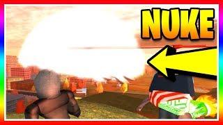 Jailbreak ASIMO DROPS A NUKE!? Nukes Coming to Jailbreak!? ☢️ (Roblox Jailbreak)