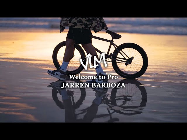 Volume Bikes: Jarren Barboza's Welcome To Pro Video