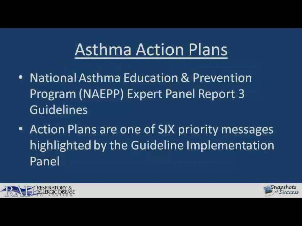 Asthma Action Plans Part   Youtube