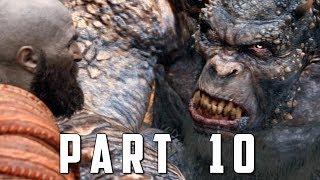 GOD OF WAR Walkthrough Gameplay Part 10 - REALM BEYOND God of War 4
