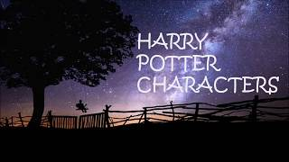 Name of Harry Potter Characters | Pronunciation of Harry Potter Characters