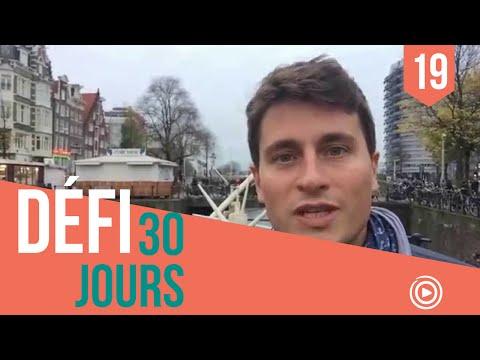 [DÉFI 30 JOURS] #19 Redevenez des étudiants ! (en direct d'Amsterdam)
