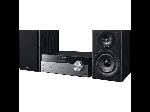 Sony CMTSBT100 Micro Music System with Bluetooth and NFC