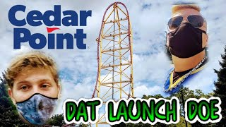 Riding Too Many Roller Coasters at Cedar Point! 8/3/20 Vlog