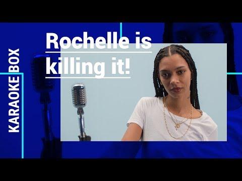 ROCHELLE channelt haar INNER BEYONCÉ op 'Countdown' & zingt 'Centerpiece' LIVE | Karaoke Box
