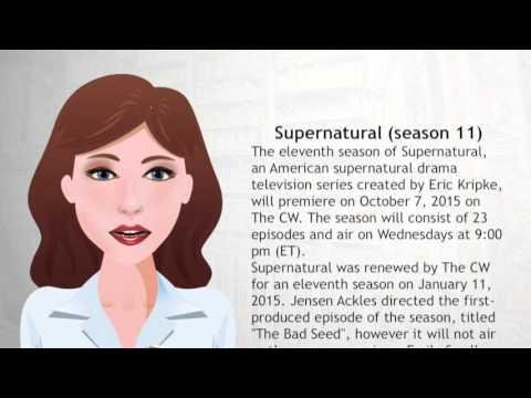 Supernatural season 11 - Wiki Videos