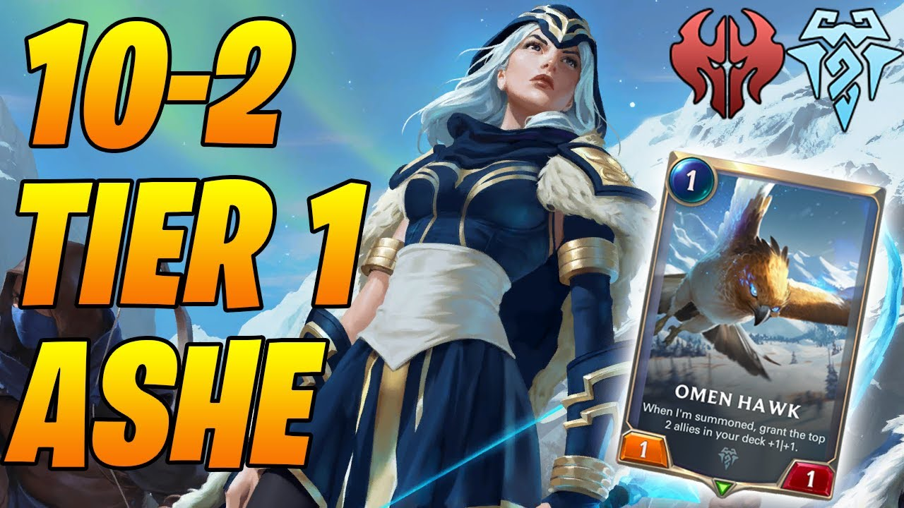 10-2 Tier 1 Ashe Sejuani! Best Deck to Climb With! | Legends of Runeterra | Controltheboard