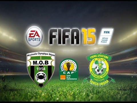 FIFA 15 Gameplay MO Bejaia vs Young Africans