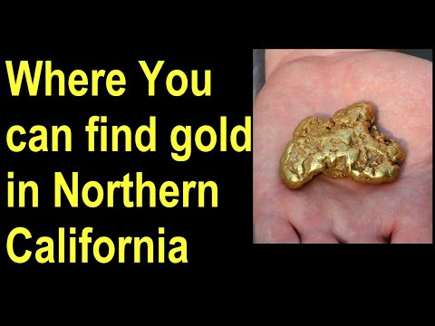 Where To Find Gold In The Mother Lode / Northern California-Gold Nugget Geology-Find California Gold
