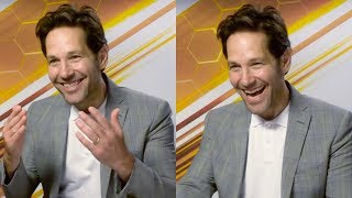 Paul Rudd On His Anti Ageing Secret & Being A Meme