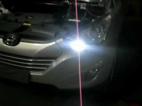 lampada lanterna led cree t10 7w - YouTube