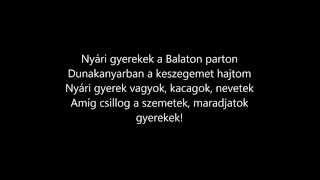 Kelemen Kabátban feat. Eckü - Maradjatok gyerekek (dalszöve…