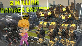 After Titans 2 Million+ Damage is a Joke ¯\_(ツ)_/¯ | War Robots 5.6